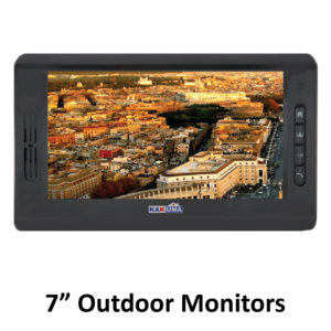 7 INCH OUTDOOR MONITORS