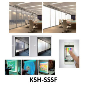 Smart Self-adhesive Switchable Film